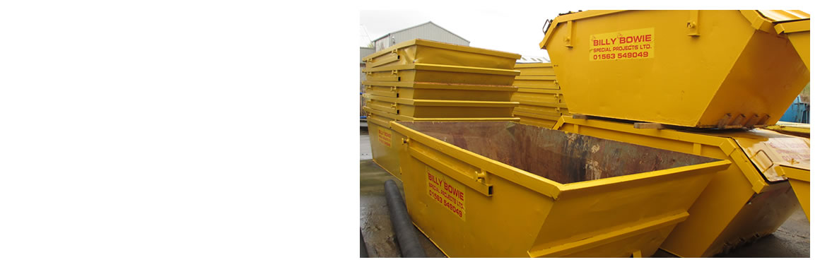 Ayrshire Skip Hire in Scotland